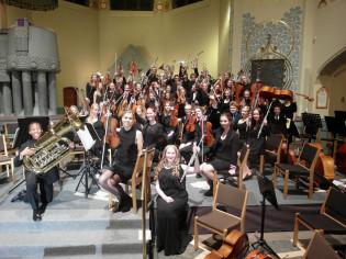 Lukion orkesteri