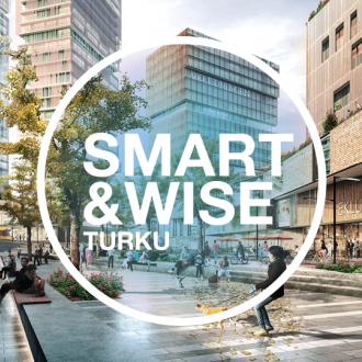 Smart and Wise Turku -kuvituskuva