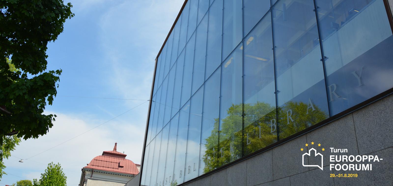 Turun Eurooppa-foorumi Studiossa ja Kirjastopihalla sekä Vähätorilla